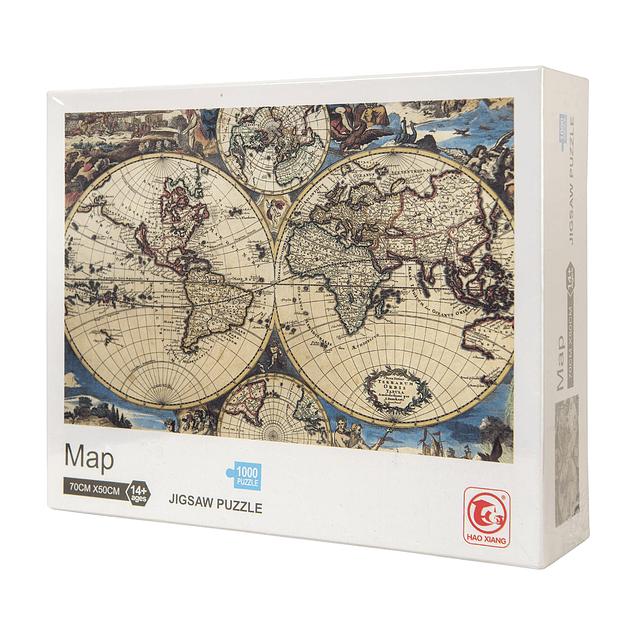 Puzzle 1000 piezas MAPA MUNDI