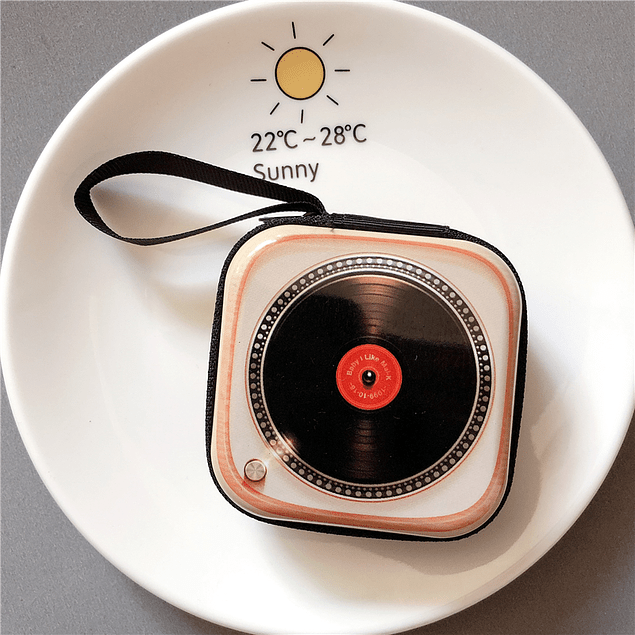 Monedero Vintage Disco
