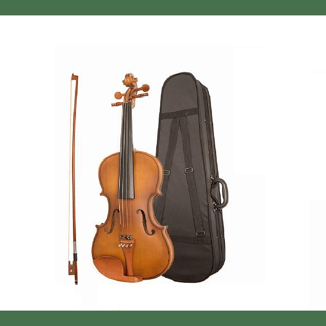 Violin 4/4 con Case y Afinador.
