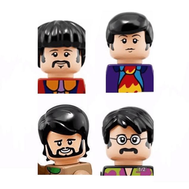 FIGURA Mini Beatles armable