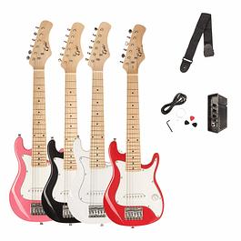 Guitarras eléctricas niños  + amp 2 watts