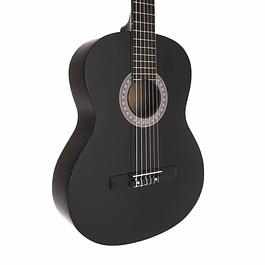 Guitarra Clásica Negra 39