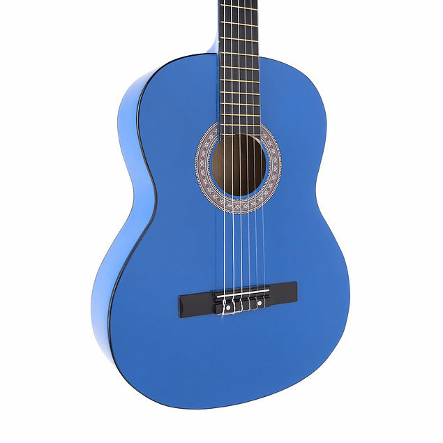 Guitarra Clásica Azul