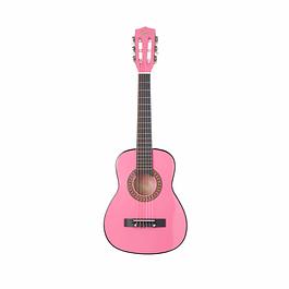 Guitarra Clásica Niños Rosada