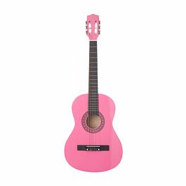 Guitarra Clásica Adolescentes y Adultos Rosada 38