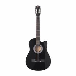 Guitarra Electroacústica Negra 38