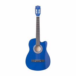 Guitarra Electroacústica Azul 38