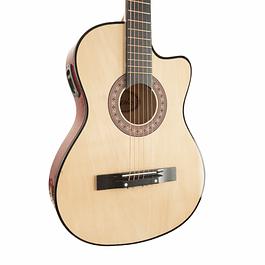 Guitarra Electroacústica Natural 38