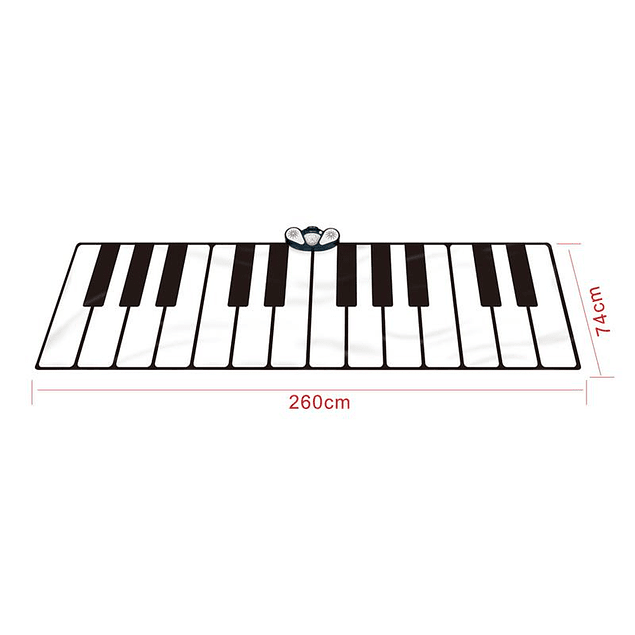Piano Alfombra Musical Gigante