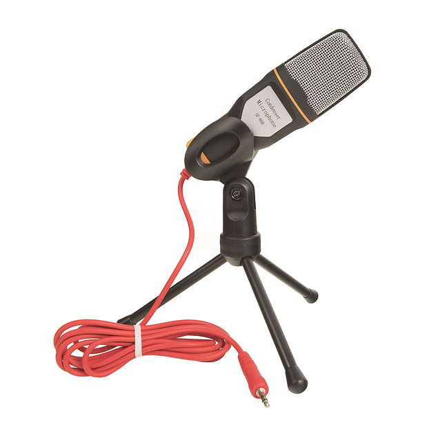 Micrófono Condensador Sf-666 Con Soporte