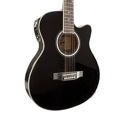 Guitarra Electroacústica Thin Negra