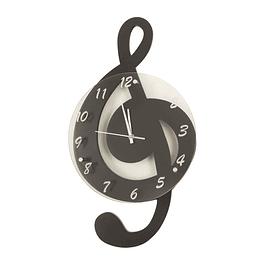 Reloj de Pared Nota Musical