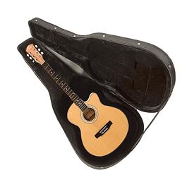 Guitarra Electroacústica THIN Natural con Case