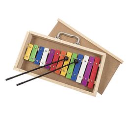 Metalófono 13 Notas Colores