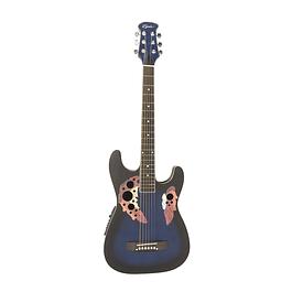 Guitarra Electroacùstica Tipo OV Azul 39