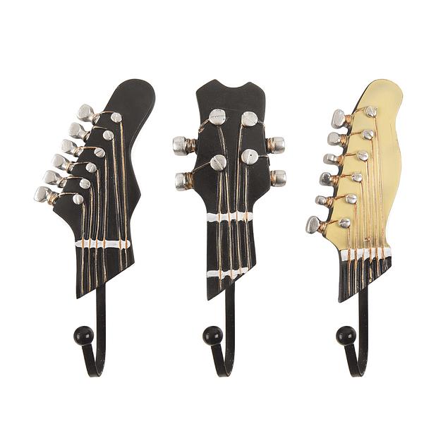 Perchero Colgador 3 Guitarras