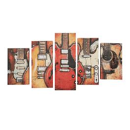 Canvas decorativo guitarras SG