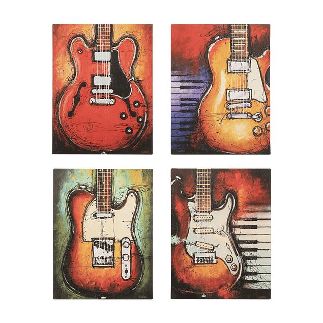 Canvas Decorativo Guitarras Eléctricas II