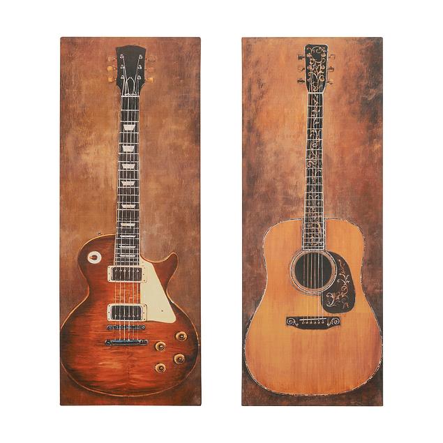 Canvas Decorativo Guitarra Eléctrica LP