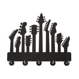 Perchero Colgador Guitarras Eléctricas 10