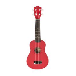 Ukelele Soprano Rojo