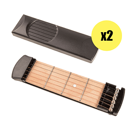 Pack de 2 Guitarras de bolsillo. (Pocket guitar)