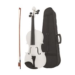 Violin 4/4 Blanco con estuche y Acc.