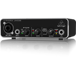 INTERFAZ DE AUDIO USB BEHRINGER U-PHORIA UMC 22