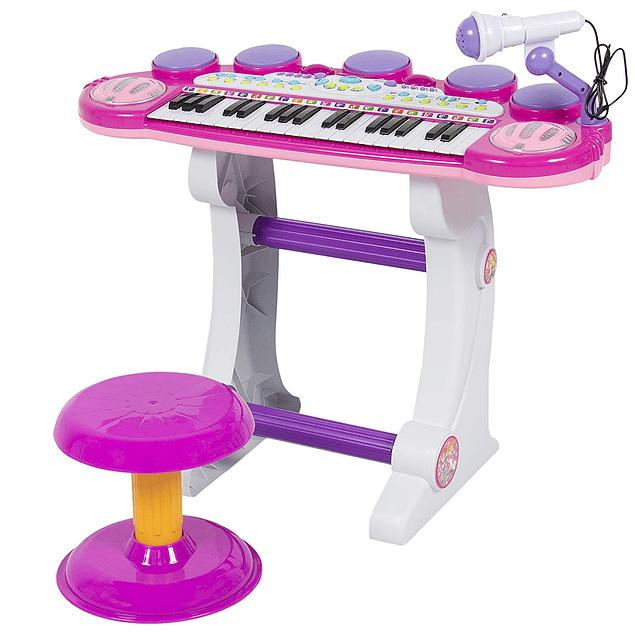 Mini Teclado Kids  Epic Pink