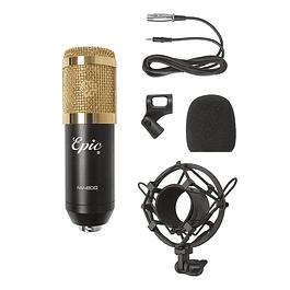 Set Micrófono condensador Gold