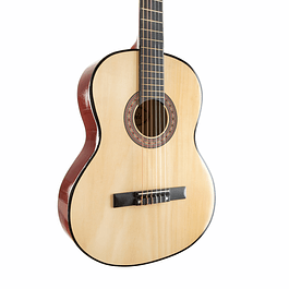 Guitarra Básica Natural 38