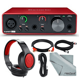 PACK INTERFAZ FOCUSRITE