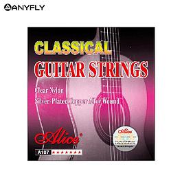 Set Cuerdas Guitarra Clásica Alice A107N