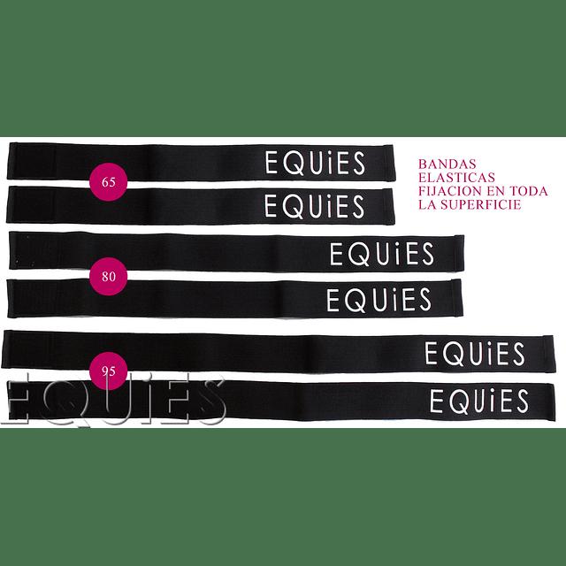 Set bandas velcro elástic