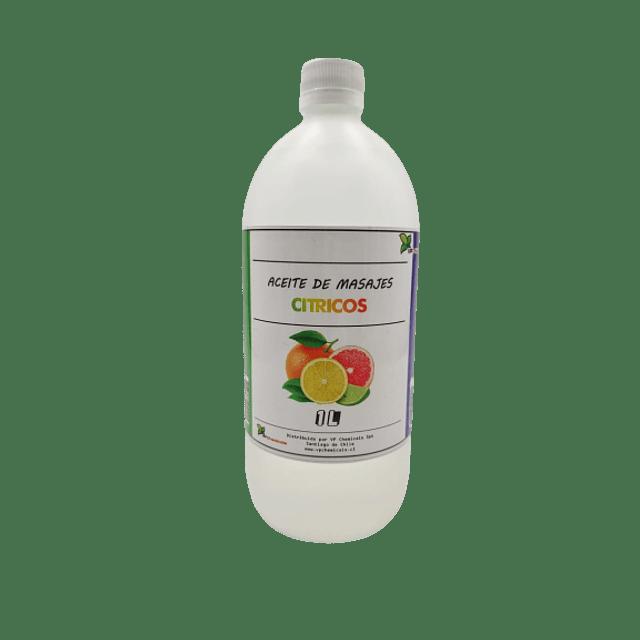 Aceite de masajes cítricos
