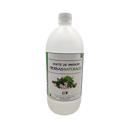 Aceite de masajes hierbas naturales