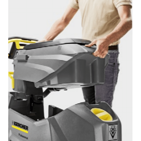 Vacuolavadora Hombre Caminando Karcher BD 50/50 C BP (Baterías) Professional