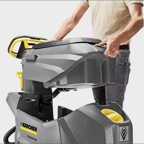 Vacuolavadora Hombre Caminando Karcher BD 50/60 Ep (Eléctrica)