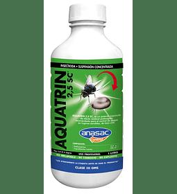 INSECTICIDA AQUATRIN 2,5 SC (1 LT)