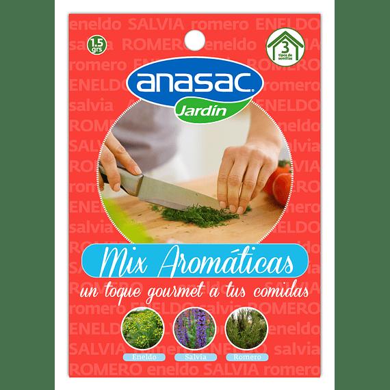 SEMILLA MIX AROMATICAS (Eneldo, Salvia y Romero) 1,5 g