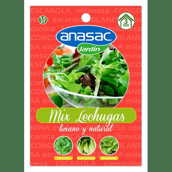 SEMILLA MIX LECHUGAS (Escarola, Conconina y Milanesa) 1,5 g