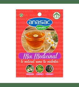 SEMILLA MIX MEDICINALES (Manzanilla, Melisa y Tomillo) 1,5 g