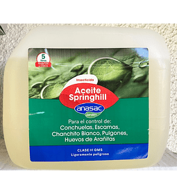 INSECTICIDA ACEITE SPRINGHILL (5 LT)