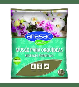 SUSTRATO ORQUIDEA (100% MUSGO SPHAGNUM) 200 g