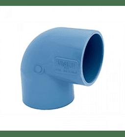 CODO PVC PRESIÓN 90° / 40 mm