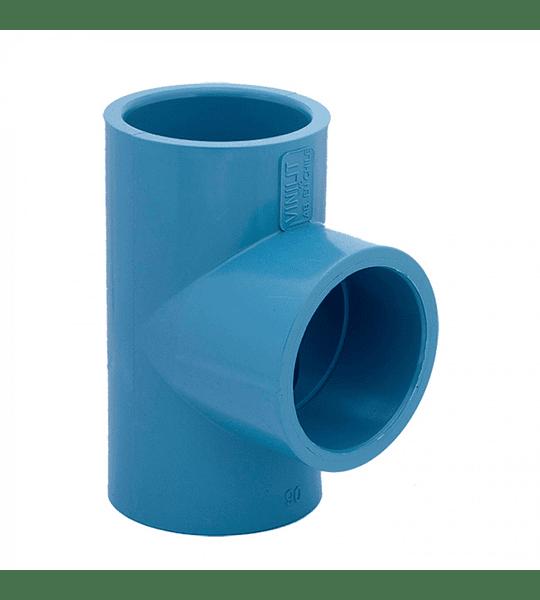 TEE PVC PRESIÓN 32 mm