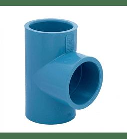 TEE PVC PRESIÓN 40 mm
