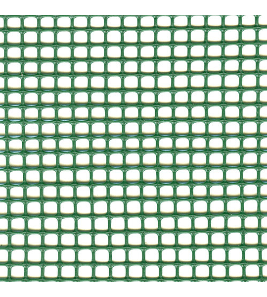 MALLA QUADRA 10 MM VERDE 0,5X5 M