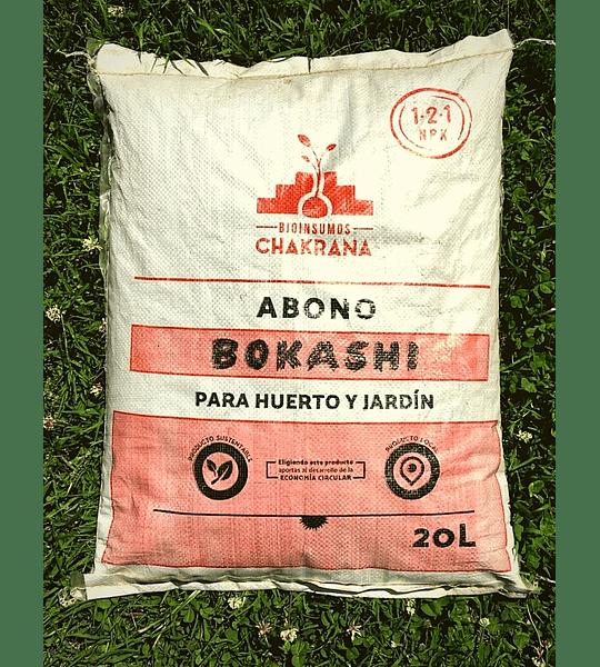 BOKASHI ABONO ORGÁNICO (20 L)