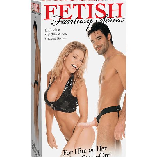 Arnés con prótesis Fetish